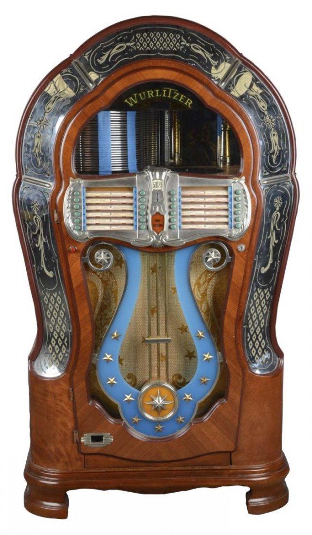 Multi-Coin Wurlitzer Model 1080 Phonograph Jukebox
