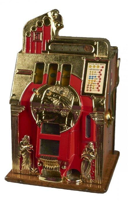 Roman Head Slot Machine