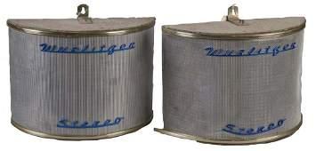 Lot Of 2 Wurlitzer Model 5125 Remote Speakers
