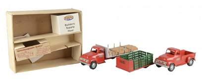 Tonka Builders Supply Fleet Trucks With OB