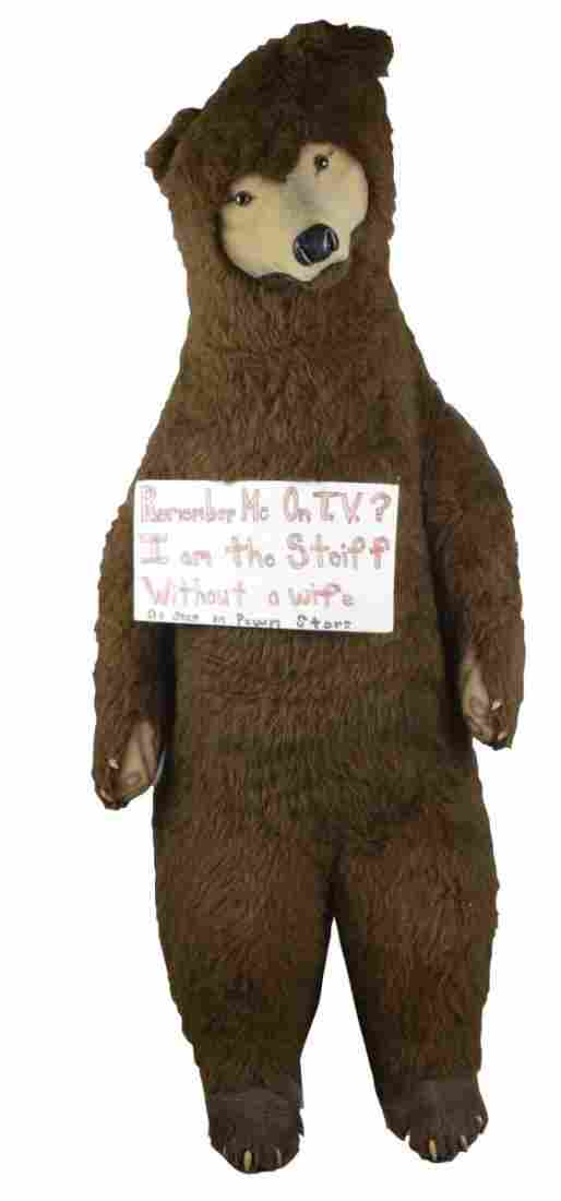 Life Size Steiff Studio Brown Bear Stuffed Animal