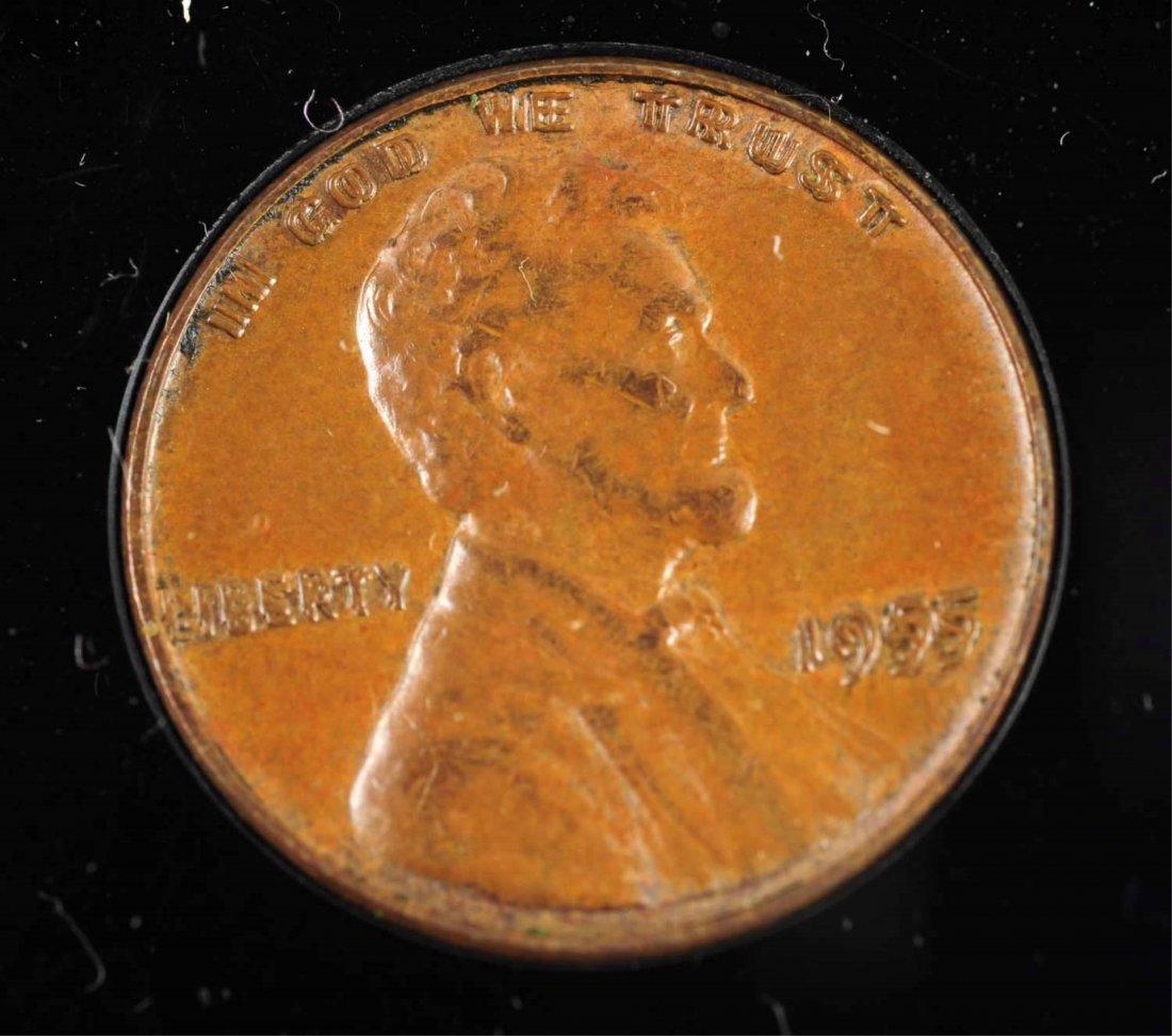 1955 Double Die Penny. - 2