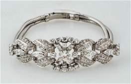 Platinum & Diamond Bracelet.