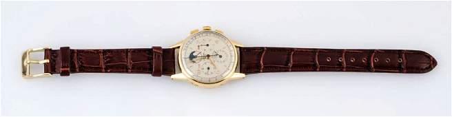 Universal Geneve Tri Compax Chronograph Watch.