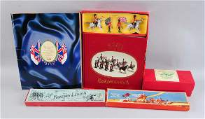 Lot Of 4: Four Toy Soldier Sets.