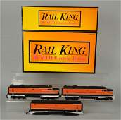 Lot Of 3 MTH Rail King  Williams Trains
