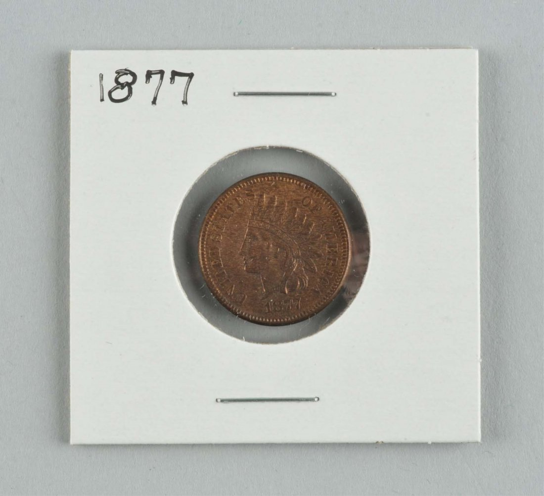 Rare 1877 Indian Head Cent.