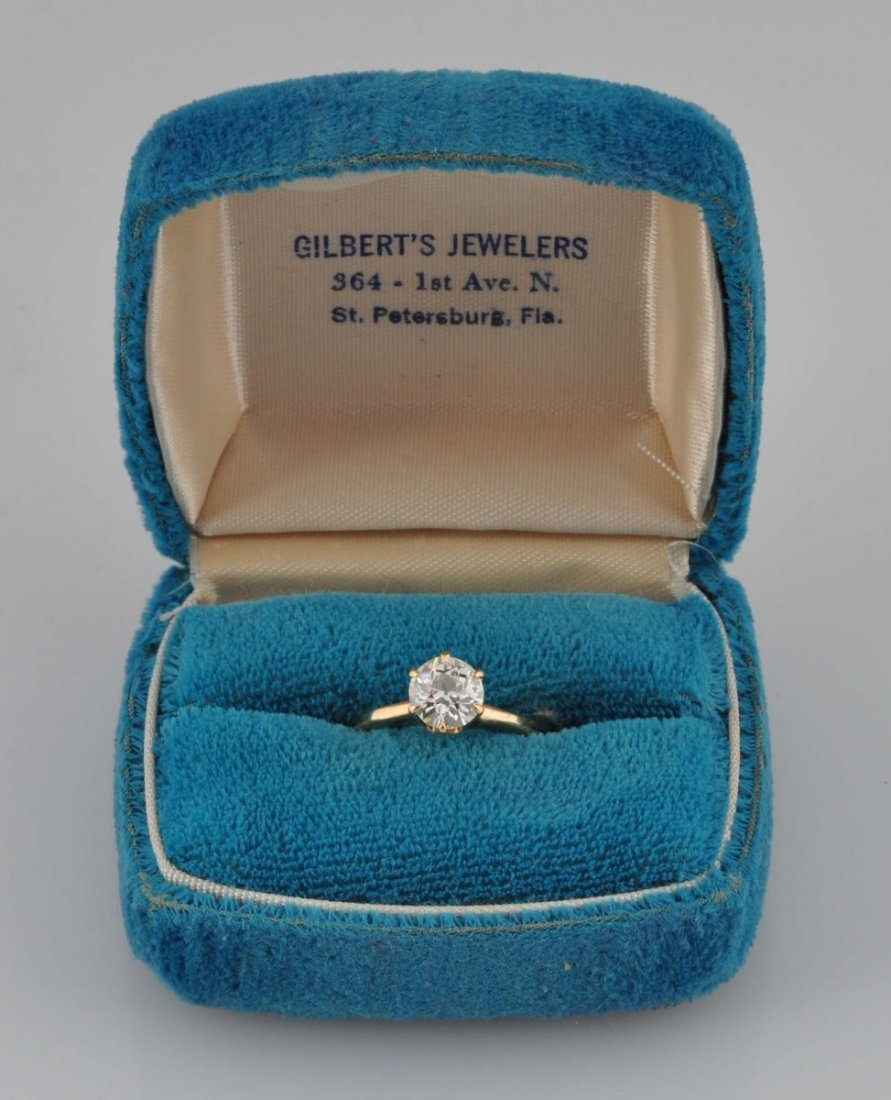 Diamond Solitaire Ring.