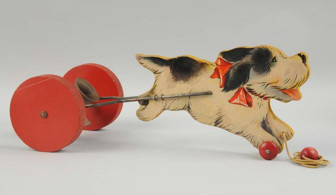 Fisher Price Paper on Wood Musical Mutt.