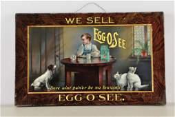 EggoSee Self Framed Tin Advertising Sign