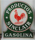 Sinclair Productos Gasolina w/ Rooster Sign.