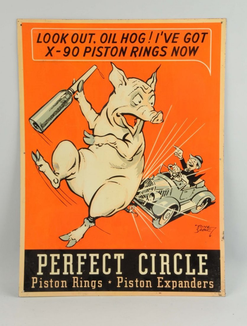 Perfect Circle Piston Rings-Piston Expanders Sign.