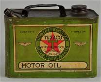 Texaco BlackT Motor Oil One Gallon Can