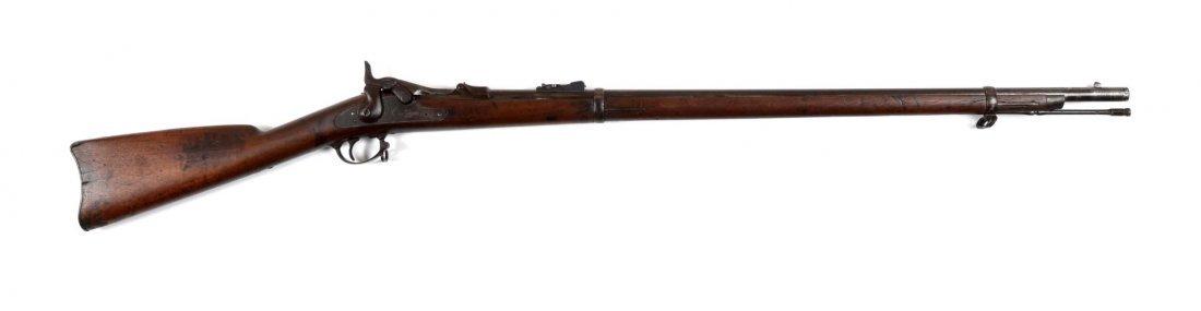 U.S. Springfield Model 1873 Trapdoor Rifle (A).