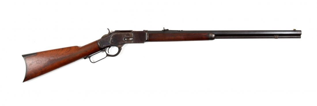 Winchester Model 1873 Lever Action Rifle (A).
