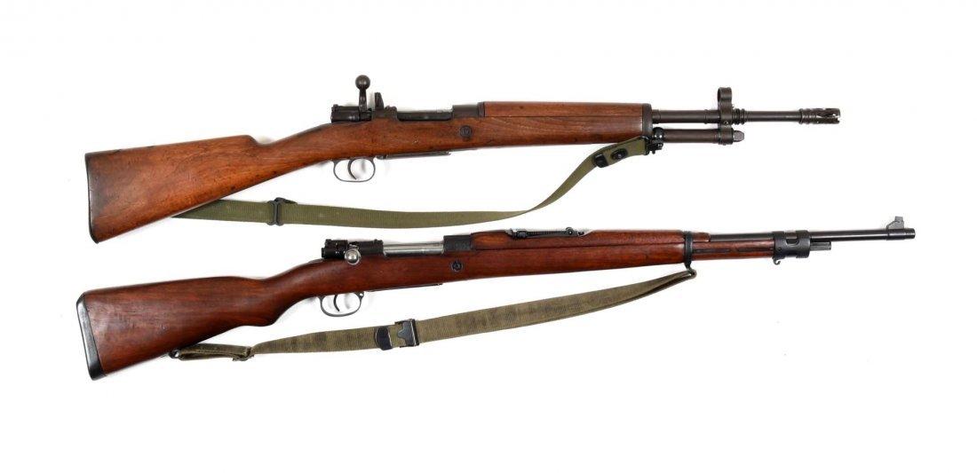 Lot of 2: Mauser Bolt Action Rifles (C).