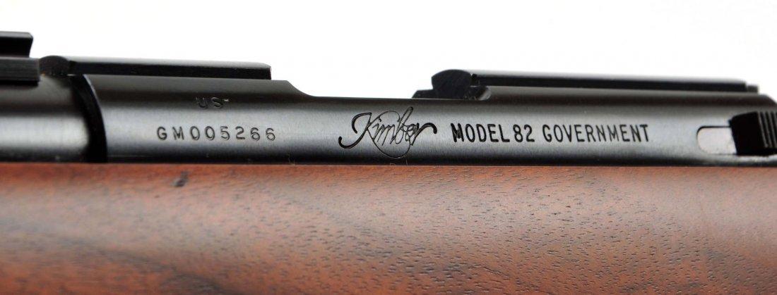 Kimber M82 USGI .22 Target Rifle (M). - 5