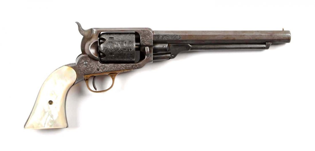 Fine Factory Engraved Whitney Revolver (A).