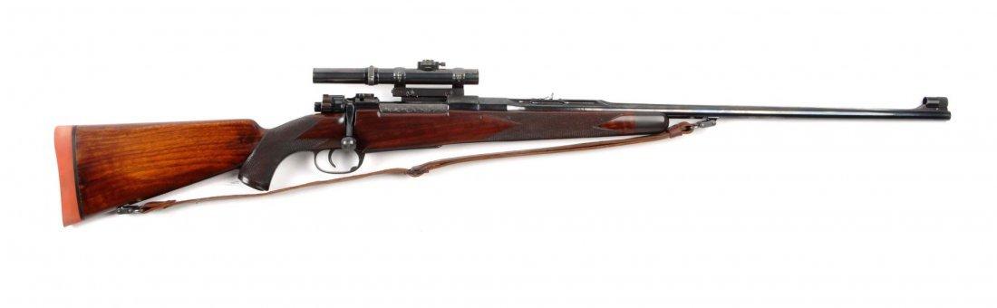 John Dubiel Pre-War Custom Sporting Rifle (C).