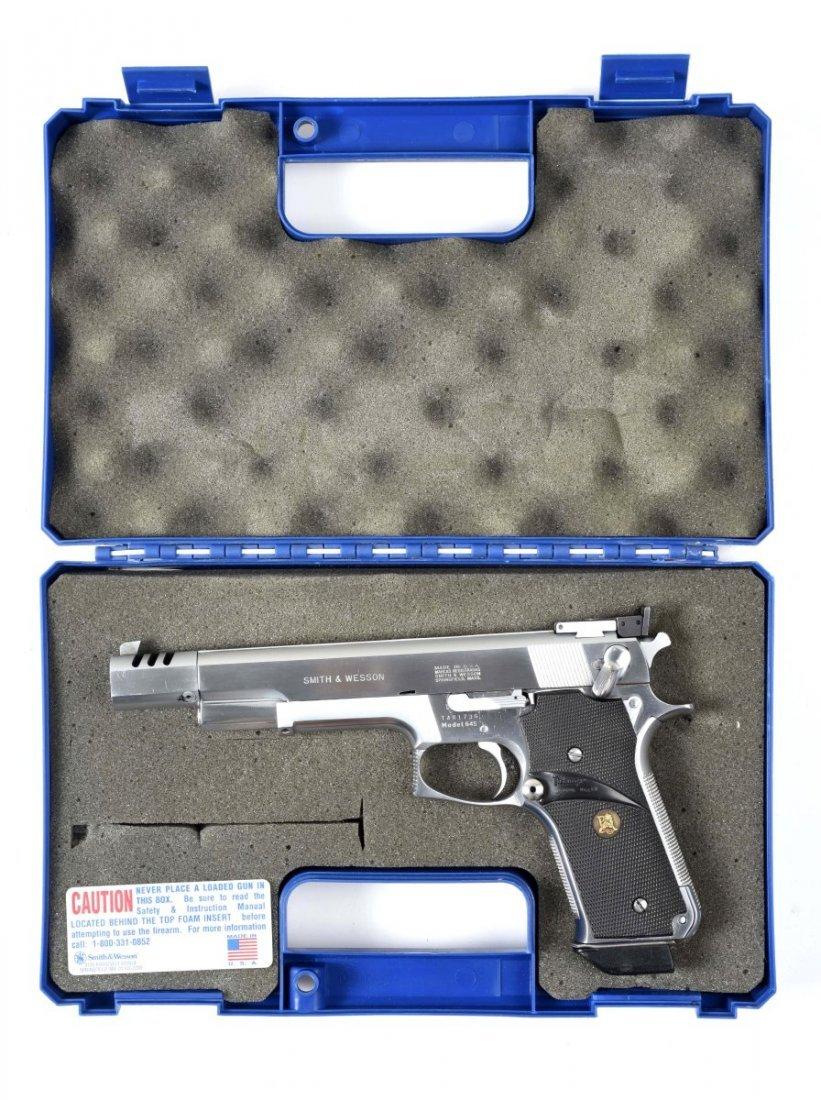 Boxed S&W Model 645 Semi-Automatic Pistol (M).