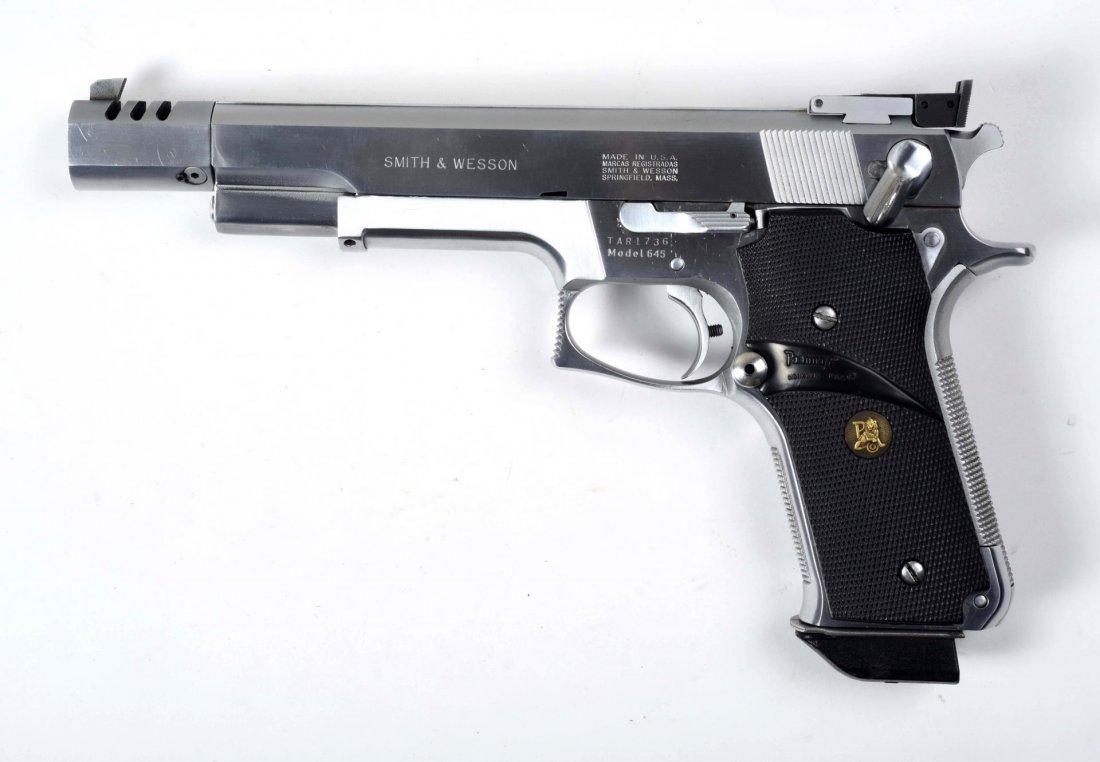 Boxed S&W Model 645 Semi-Automatic Pistol (M). - 6