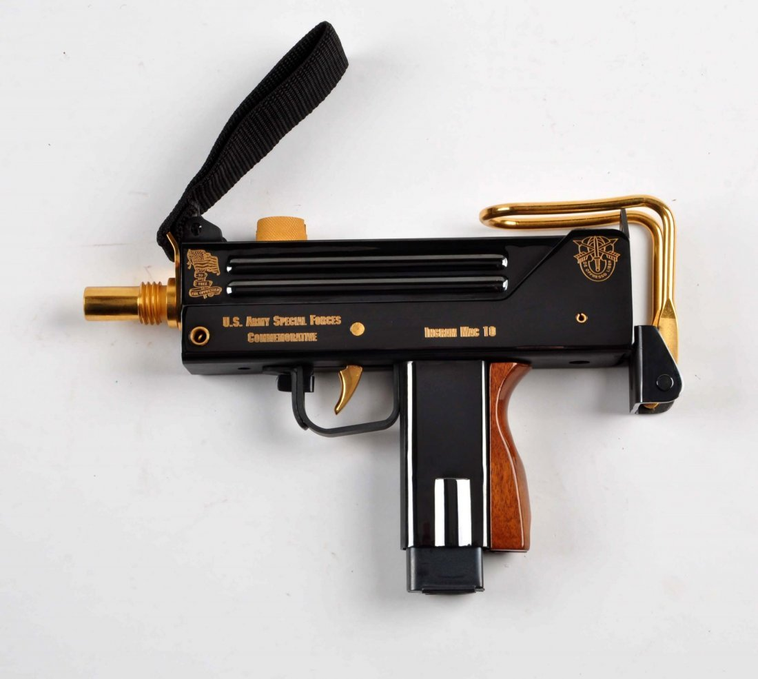 US Army Special Forces Comm. Ingram Mac 10 (M). - 2