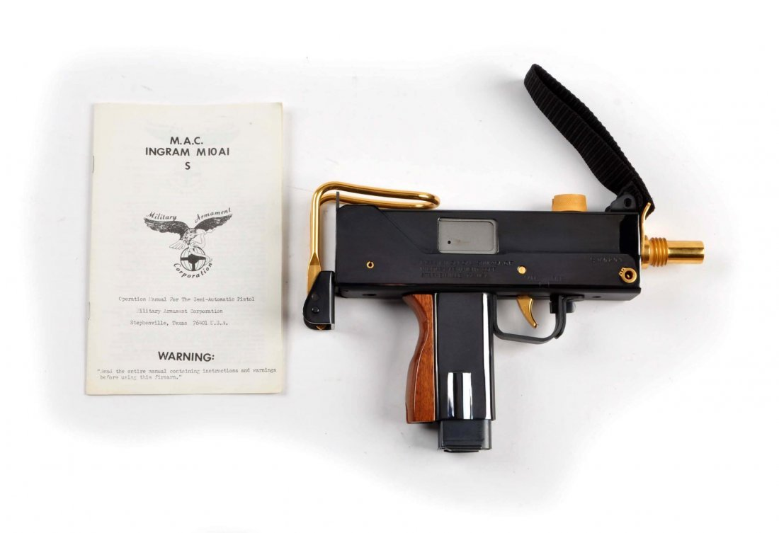 US Army Special Forces Comm. Ingram Mac 10 (M). - 3
