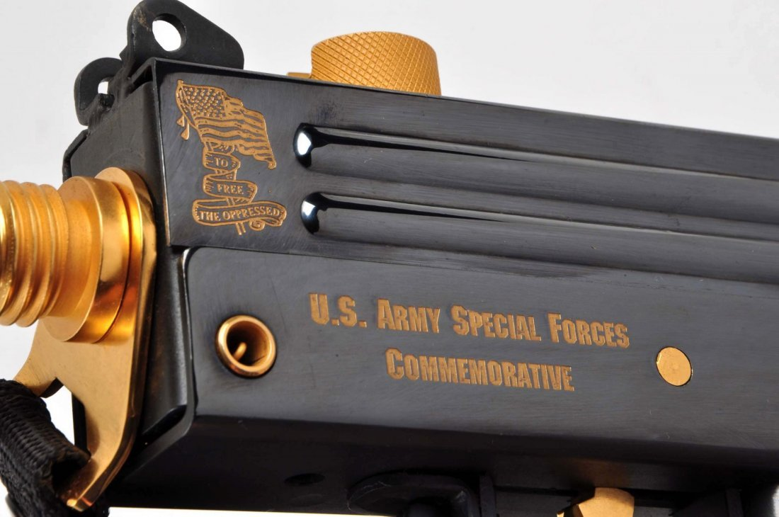 US Army Special Forces Comm. Ingram Mac 10 (M). - 6