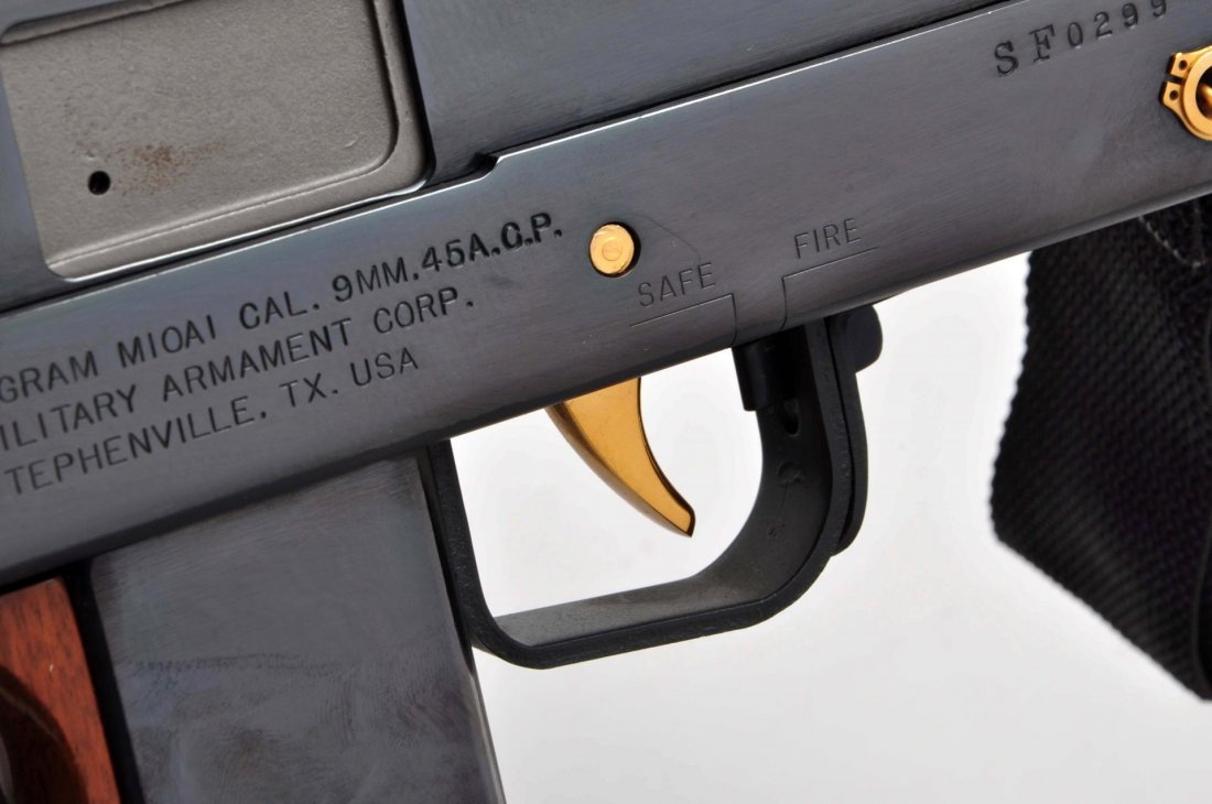US Army Special Forces Comm. Ingram Mac 10 (M). - 8