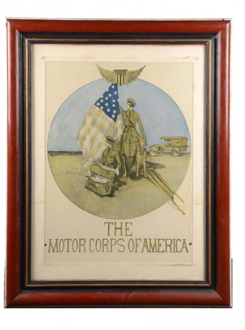 Motor Corp Of America Print