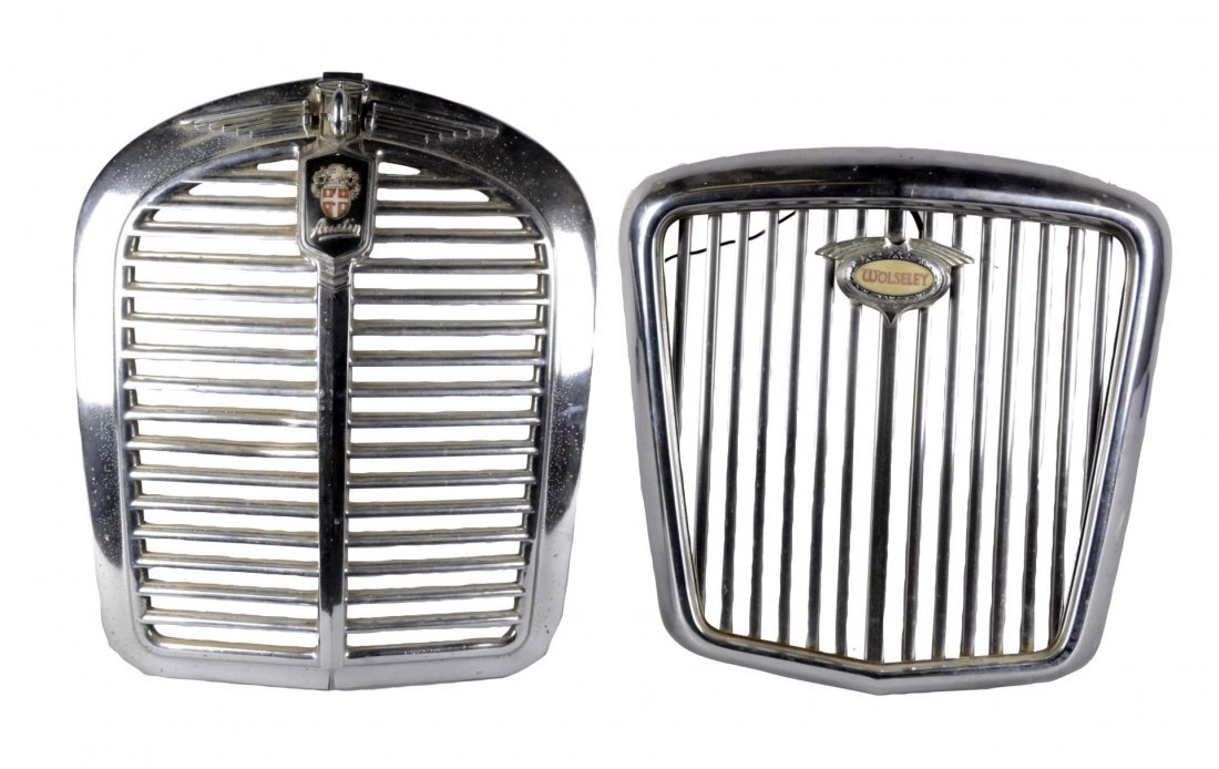 Lot Of 2: Automobile Grills