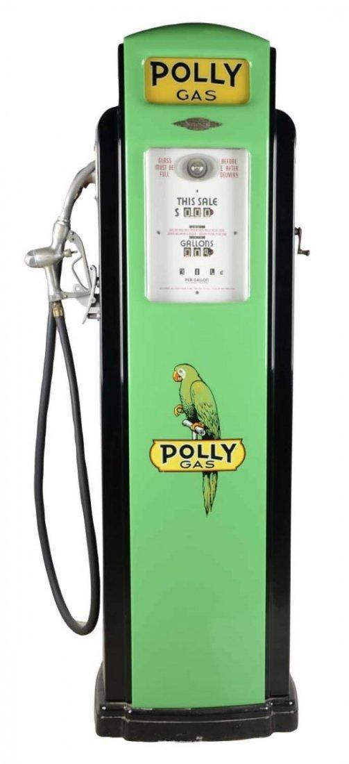 Bennett Model 371 Vintage Polly Gas Pump