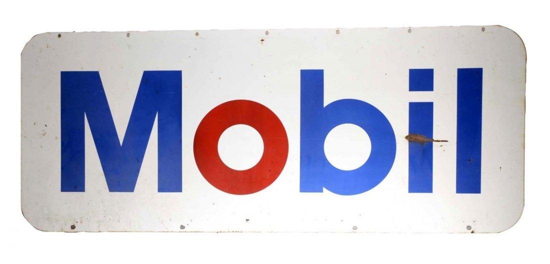 Mobil Porcelain Gas Station Sign