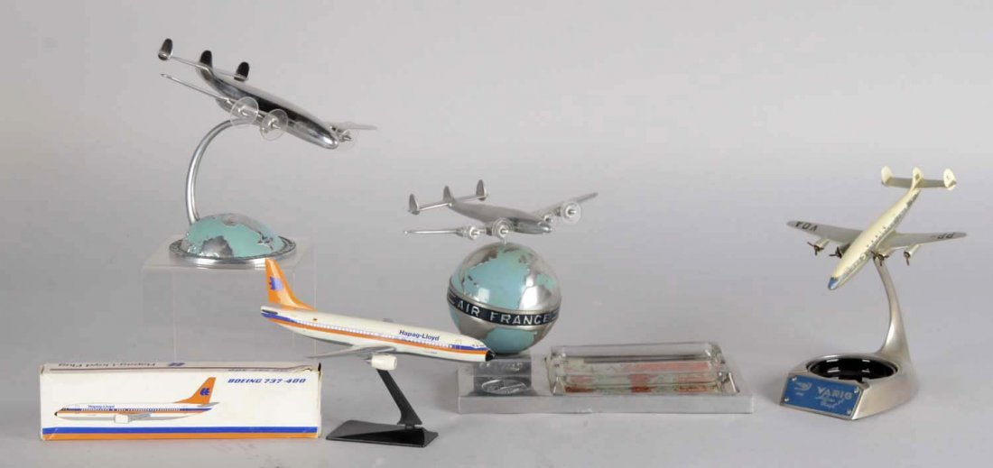 Lot Of 4: Airline Advertising Model Planes