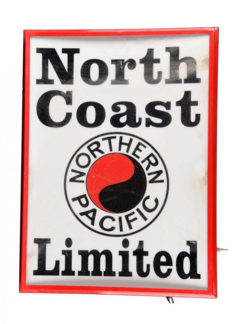 Illuminated North Coast Limited Train Sign