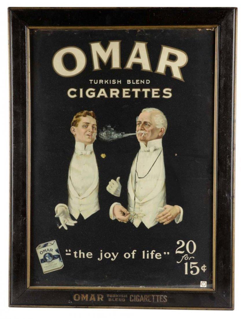 Omar Cigarettes Tobacco Advertisement