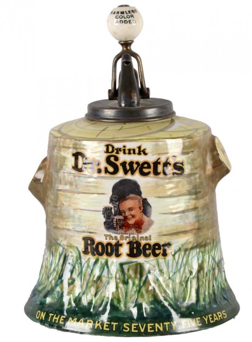Dr. Swett's Root Beer Syrup Dispenser
