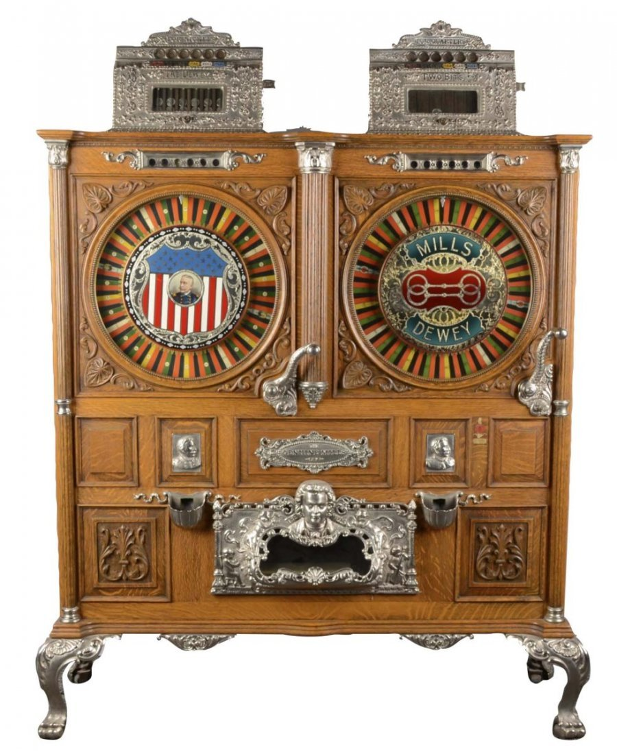 **Multi-Coin Mills Double Dewey Slot Machine