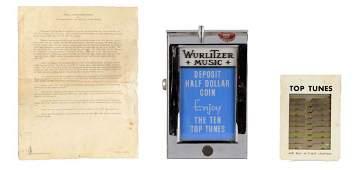 50 Wurlitzer Jukebox Wall Box In Original Box