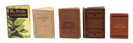 Lot Of 5 Early Books for The Gentleman