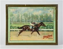 Pfeiffers Kentucky Derby Horse Beer Sign