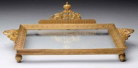 French Empire Gilt Bronze Tray.