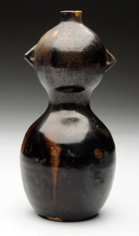 Early Japanese Gourd Shaped Vase.