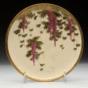 Japanese Satsuma Plate.
