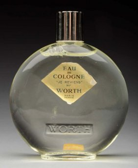 Lalique Full Perfume Bottle.