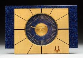 Bulova Accutron Desk Clock.