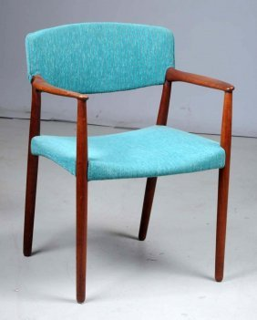Danish Modern Chair By Willy Beck.