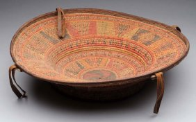 Early Tribal Woven Basket.