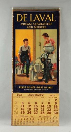 De Laval Cream Separators Advertising Poster.
