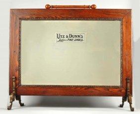Utz & Dunn's Shoes Floor Mirror.